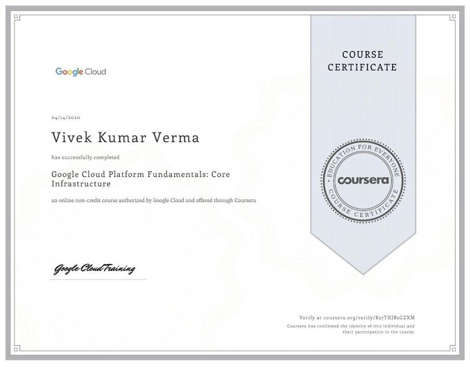 Google Cloud Platform Fundamentals