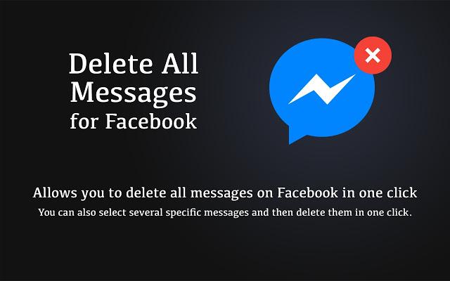 Delete All Facebook Messages 2021
